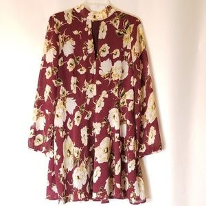 Lucca Floral Longsleeve Dress